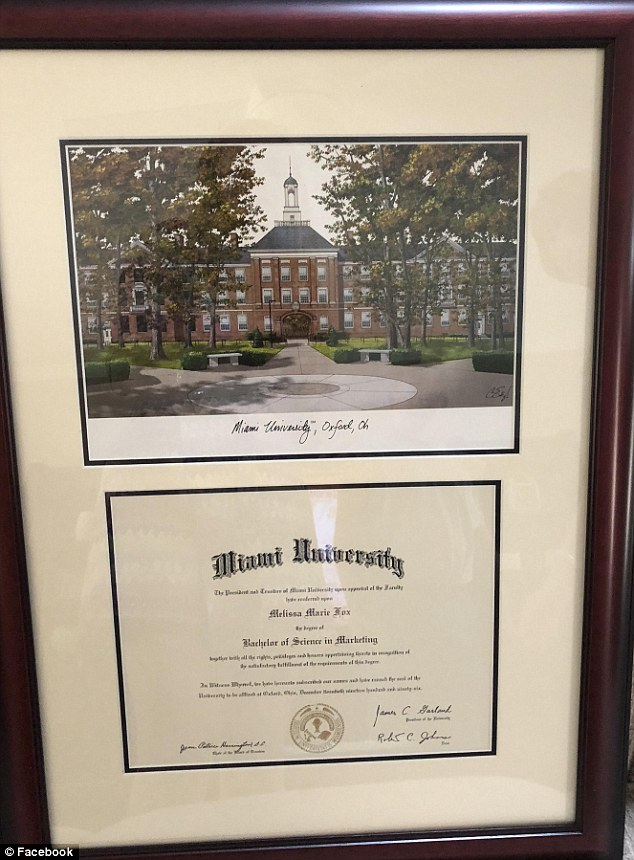 Howard is said to have studied retailing, meaning her degree would have been a Bachelor of Science in Family and Consumer Sciences
