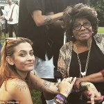 Paris Jackson gush about Grandmum,Katherine for attending her live show