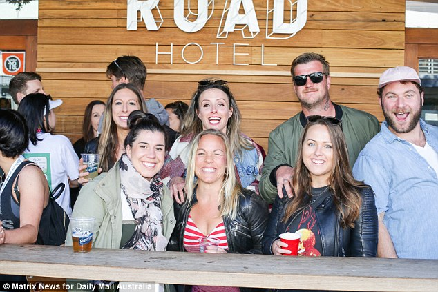 Bondi's bars and restaurants are at capacity as exhausted joggers and those simply keen for a Sunday afternoon drink flock to the beachfront for a beverage