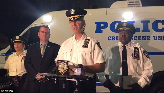The teen, whose name is being withheld because he is a minor, has been charged with attempted murder, criminal possession of a weapon and criminal use of a firearm, NYPD Chief David Barrere said in a press conference Saturday