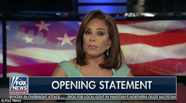 Pirro claimed that the Mueller investigation is tainted because it is centered around the infamous dossier compiled by ex-British spy Christopher Steele, which alleges Russia possessed information it was using to blackmail Trump into running for president