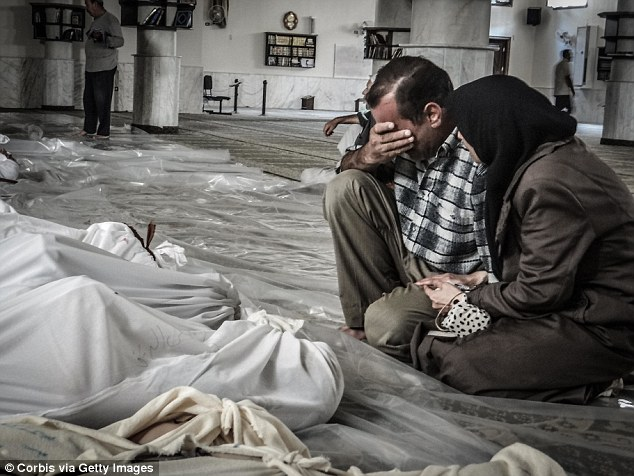 President Bashar al-Assad unleashed the deadly nerve agent sarin near Damascus, killing more than 1,000 people, many of whom were children, on Wednesday, August 21, 2013 (pictured)