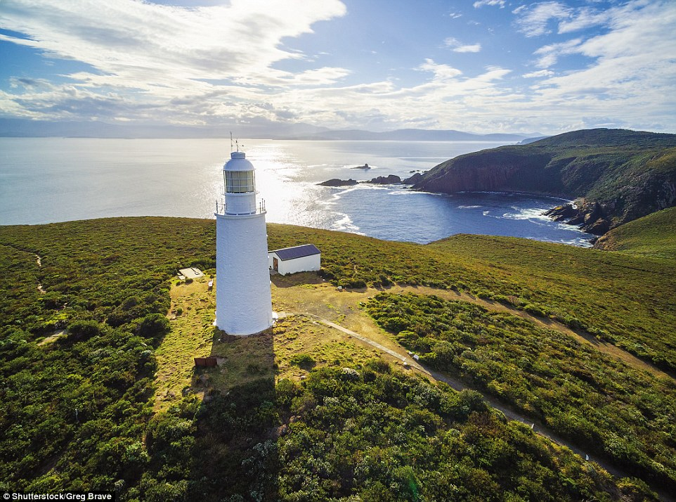 Australia's second-oldest surviving lighthouse, operational from 1838 to 1996, Cape Bruny Lighthouse in Tasmania was built by convicts out of rubblestone and stands 43ft high. The light now comes from an adjacent, shorter, fibreglass structure