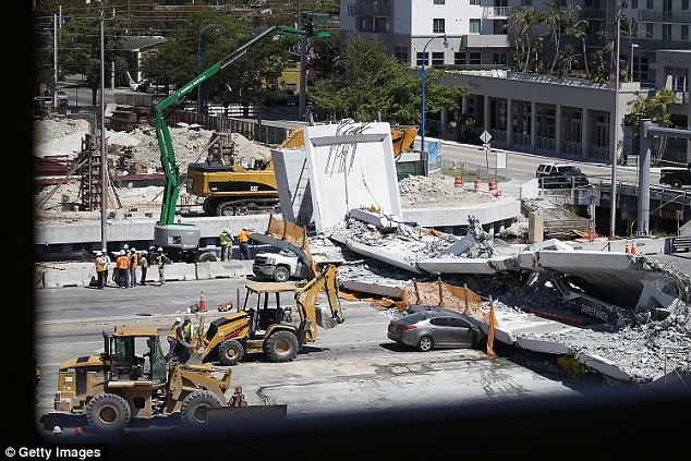 But an engineer from bridge designer's FIGG Bridge Group - W. Denney Pate - relayed in a voicemail to the Florida Department of Transportation that he was not worried about the cracks