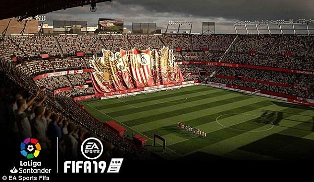 FIFA 19 Introduces 16 New La LIga Stadiums And 200 Player