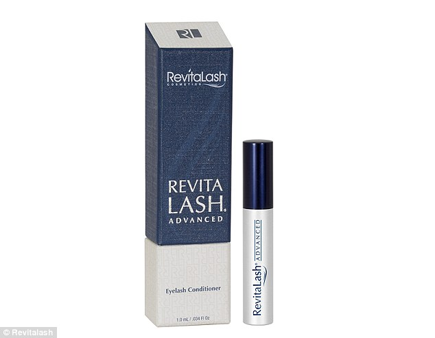 Revitalash condidioner (pictured) contains a uniqueBioPeptin Complexâ formula which boosts lashes and has sold millions of units worldwide, and the Duchess of Sussex is a fan