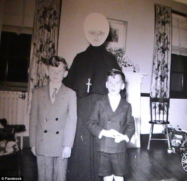 An unidentified nun and boys are seen in this undated photo from St. Joseph's orphanage. Shocking new claims about the institution have surfaced following a new report