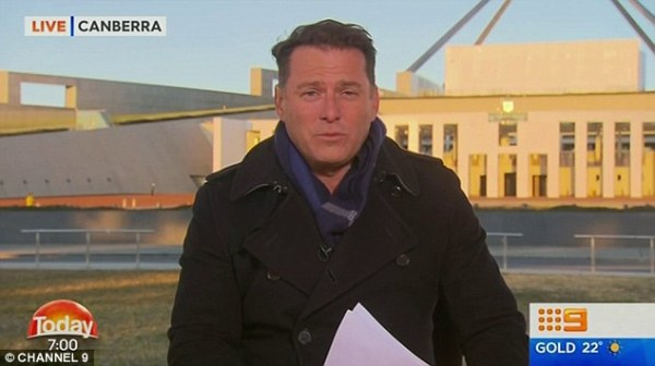Karl Stefanovic is struck down with pneumonia | Daily Mail ...