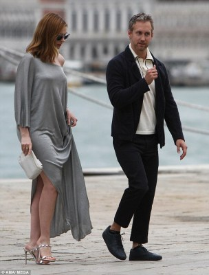 Anne Hathaway and husband's style at the Venice Film festival