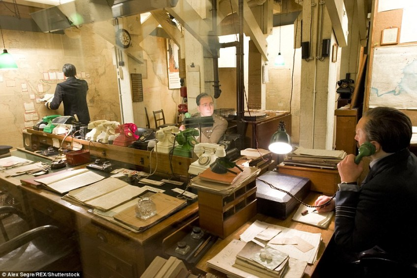 Work on the Cabinet War Rooms, built directly beneath Whitehall, started in 1938 and they became fully operational in 1939 before they were eventually abandoned after Japan's surrender in the summer of 1945