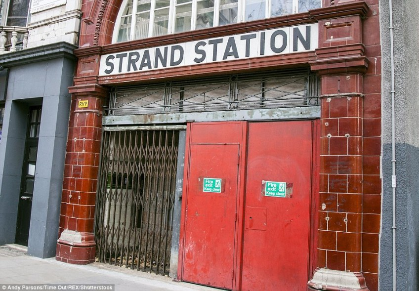 Aldwych Tube Station opened in 1907 as Strand Station. It holds a special fascination for people as it is still visible above ground