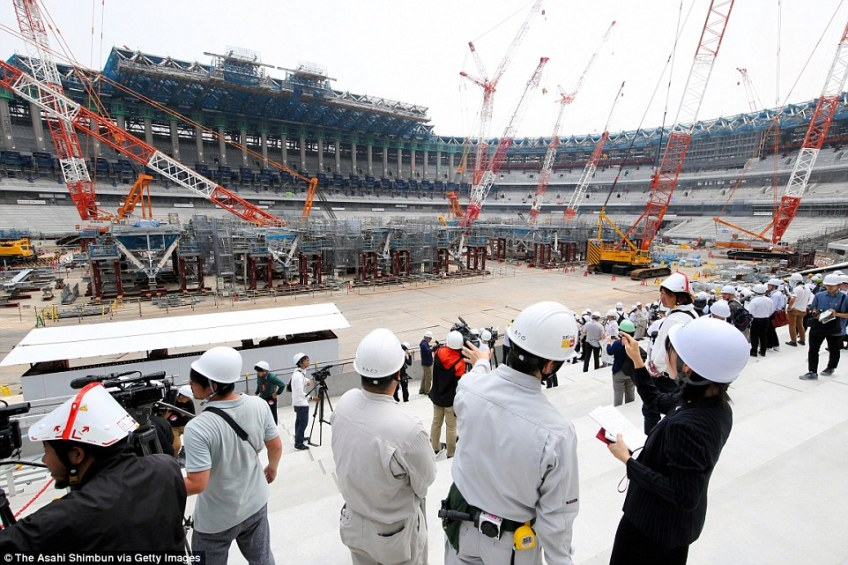 The Tokyo Stadium will host the opening and closing ceremonies for the 2020 Olympics and will be home to Japan football
