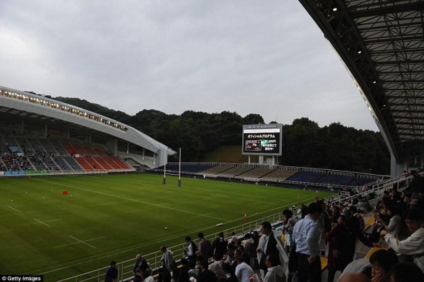 Hakatanomori Football Stadium has a capacity of 22,563 and will host matches such asFrance vs USA and Ireland vs Samoa