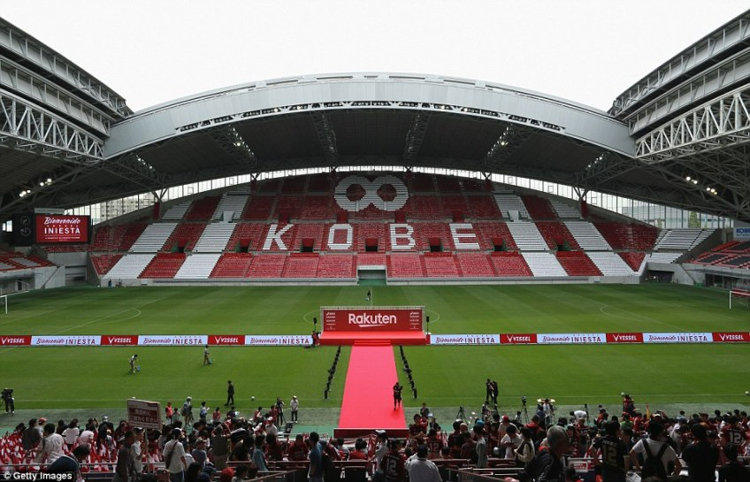 The arena was also the first football stadium in Japan to host night games following the installation of lights