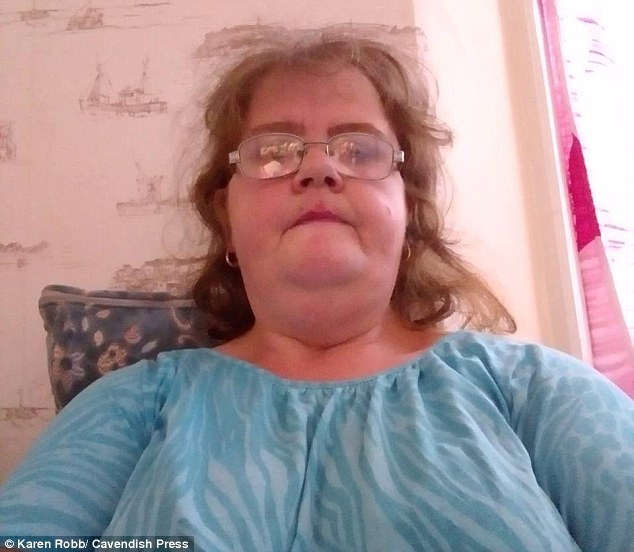 Karen Robb, 43 (pictured) sent explicit messages to a 15-year-old and exposed her breasts to him on a video chat between December 2016 and August 2017