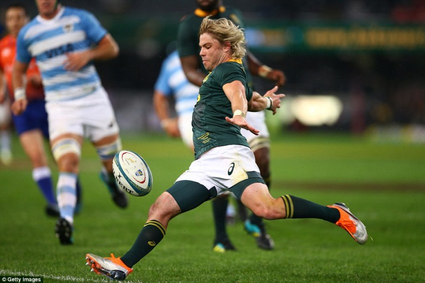 Faf de Klerk is so nonchalant he is almost taking the mickey without really meaning to, he is exceptionally talented