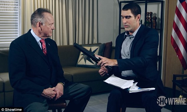 Roy Moore is suing comedian Sacha Baron Cohen for $95 million for tricking him into appearing on his Showtime program 'Who is America?