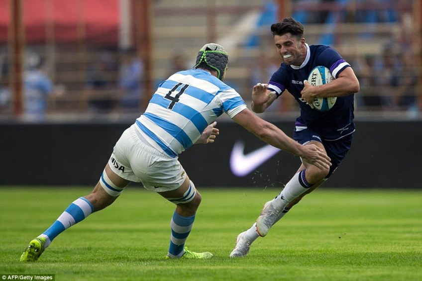 Russell's understudy is Adam Hastings, son of Scotland legend Gavin, after winning his first three caps on the summer tour