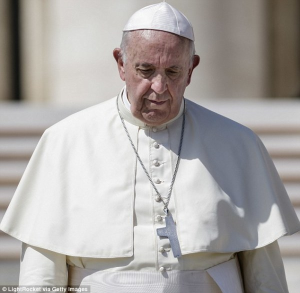 Pope Francis hits out at money-centred culture that ...
