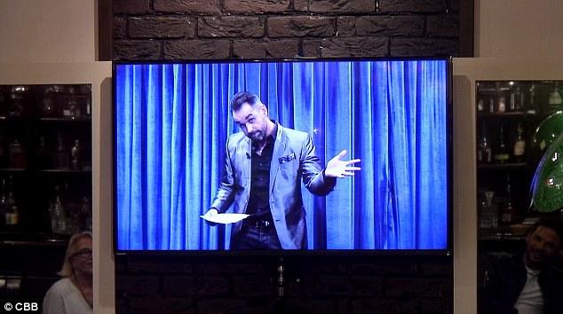 Pas timide! Ben Jardine a révélé avoir jeté son dévolu sur Gabby alors que son ancien coéquipier fait un retour effronté à la maison des célébrités Big Brother pour animer un quiz lors du spectacle de dimanche soir.