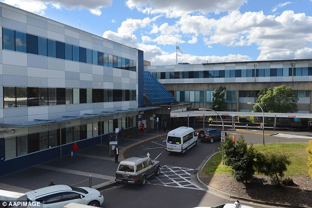 He was taken to Westmead Children's Hospital, where he remains in a serious but stable condition
