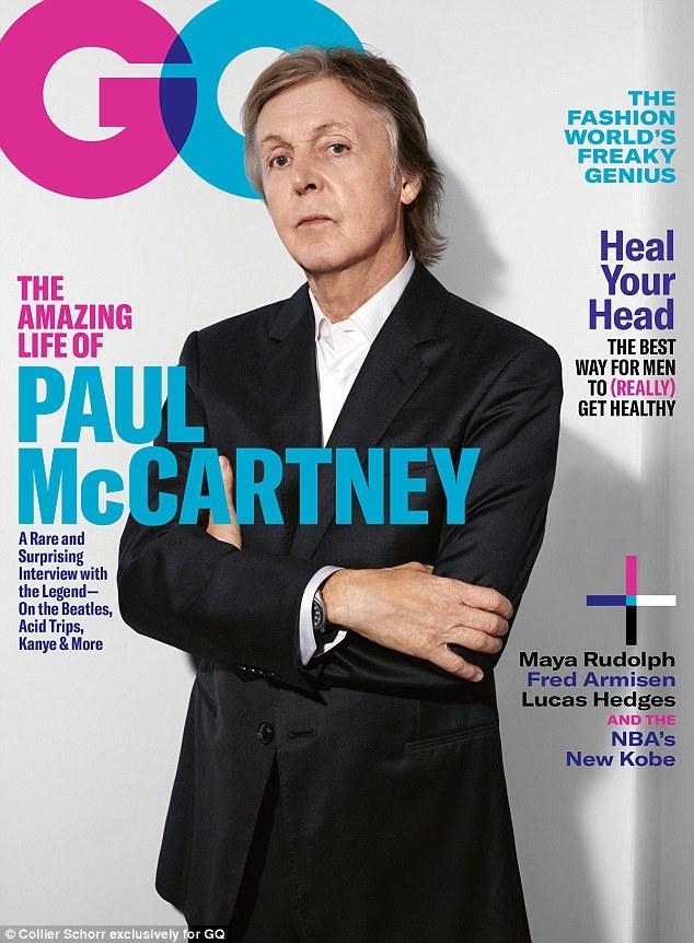 Icon: Au cours de son interview, il a parlé de son passé avec les Beatles, de ses sessions d'écriture inhabituelles avec Kanye West et de ses regrets concernant Amy Winehouse