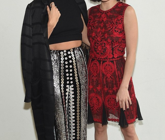 Reunited Lucy Was Also Seen Posing Alongside Nikki Reed During The Day With Nikki