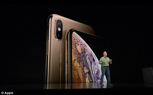 Apple launched its iPhone XS and XS Max flagship devices at an event in San Francisco on September 12