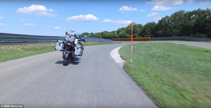 In a new video, BMW Motorrad - the German automaker's motorcycle division - showed off a self-driving version of its R1200GS, a vehicle it has spent more than two years developing