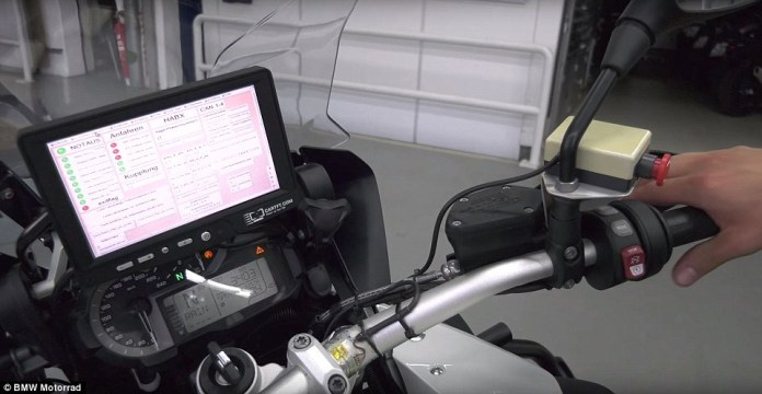 The automaker has not revealed what technology it uses to help the bike see, but it likely involves use of motion-sensing cameras, lidar and AI technology - like almost all autonomous cars