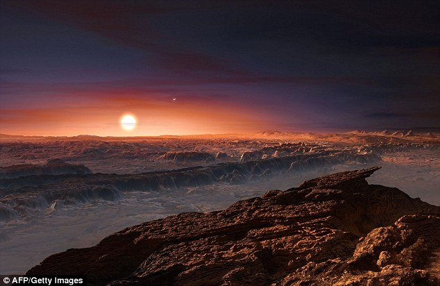 Since its discovery, questions about the conditions at the surface of Proxima b have been swirling; the planet's mass is just about 1.3 times that of Earth's, and the red dwarf star it circles is similar in age to our sun. Artist's impression