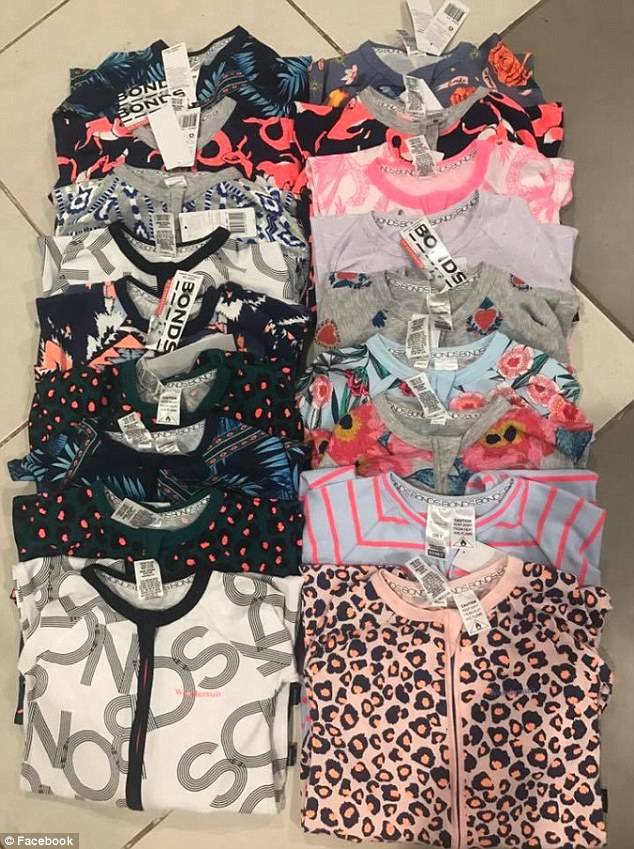 This mother revealed she stocked up on two years worth of sleepwear for her two children