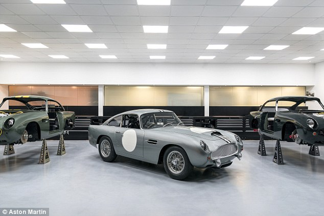 Aston Martin Works already has a DB4GT Continuation project, so has experience of recreating the wonderful classic