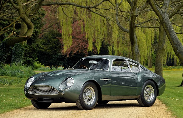 What the final DB4 GT Zagato Continuation models will look like when they're delivered to customers in 2019 - one year before the DBS GT Zagato is ready for collection