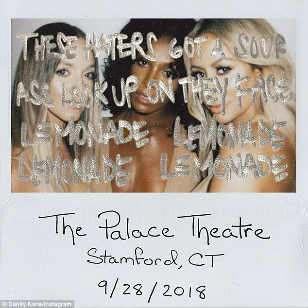 Tour: Aubrey, Shannon Bex and Dawn Richard will bring their group of girls formed by Making the Band Danity Kane to Connecticut's Palace Theater in Stamford on September 28th