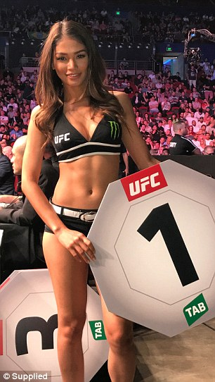 It's a life of extremes the 25-year-old has become accustomed to, ever since she won the first UFC Octagon Girl Search in Asia back in 2015