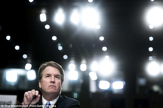 Ford also reveals in the letter that the weeks since she has come forward have been the 'hardest' of her life as she has received death threats and has been forced to move homes with her family a number of times. Kavanaugh is also expected to testify on Thursday