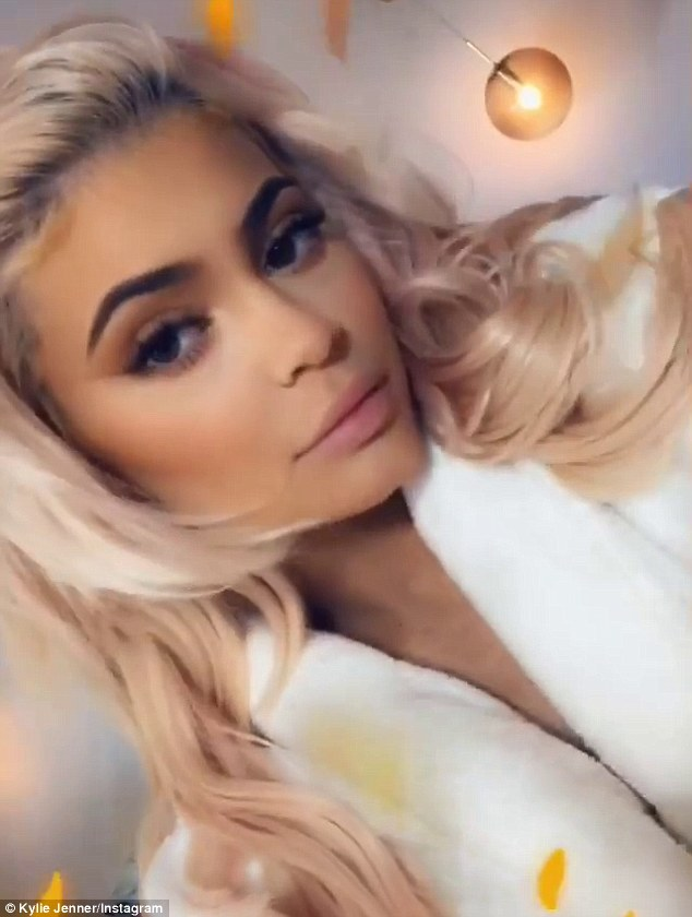 Money maker: According to Forbes Kylie is poised to become the world's youngest 'self-made' billionaire any moment now