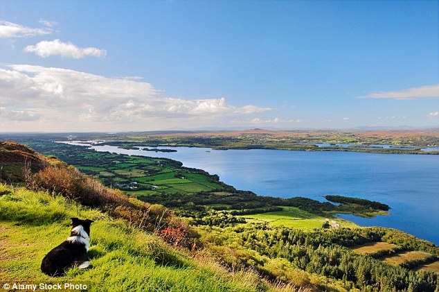 Great lake: Lower Lough Erne in Northern Ireland, where you can kayak, swim or fish