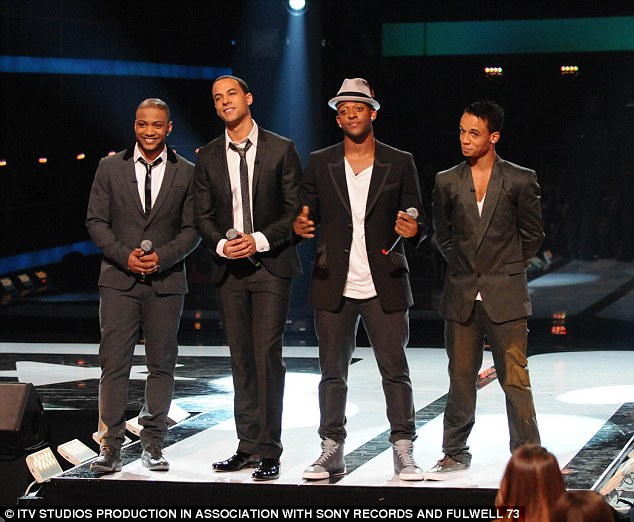 The boyband had chart success between 2007 and 2013. Oritse has since performed as OWS