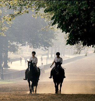 Hyde Park Stables, used by kings like Prince and Princess Michael of Kent, were closed and the steeds sold