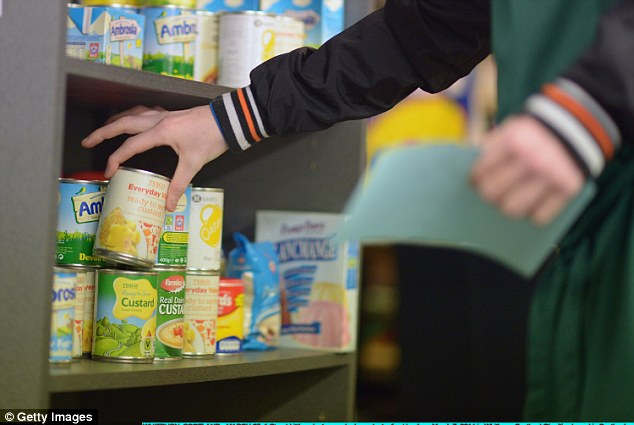 A national food bank handed out 660,000 ration packs in just six months to people in crisis seeking help