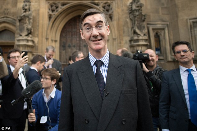 'Deeply politicised':Brexiteer Jacob Rees-Mogg has made no secret of his distaste for Carney