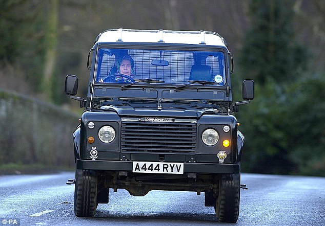 The Defender is legendary, and a firm favourite of Queen Elizabeth II, pictured here driving her Defender 110 to the stables in Sandringham