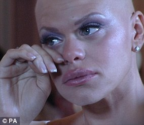 Jade Goody (pictured) died of cervical cancer aged just 27 after she was 'too scared' to go for a smear test