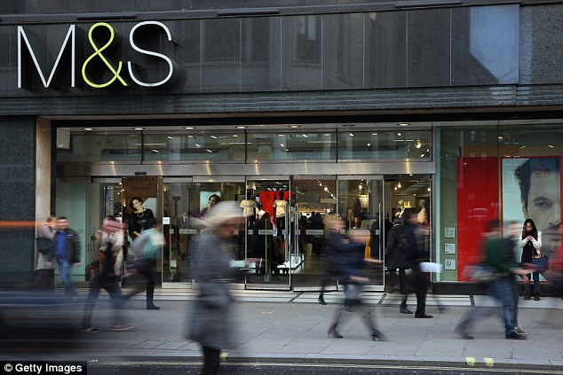 Steiner held secret talks about the launch of a new food delivery service for Marks & Spencer