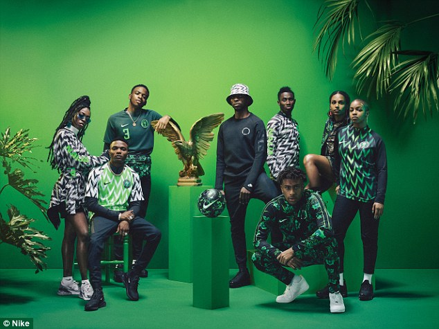 Fans queued for hours on Oxford Street to get their hands on the stylish Nike World Cup kits