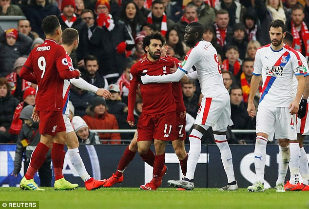 Mohamed Salah is gaining a reputation he would rather avoid after a series of perceived dives