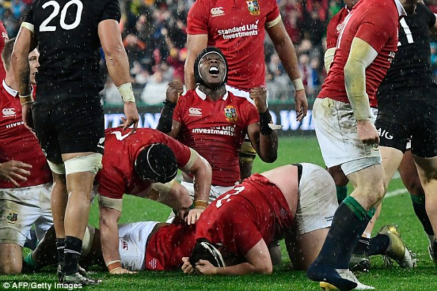 The Lions sealed a 1-1 series draw with the All Blacks on their last tour to New Zealand in 2017