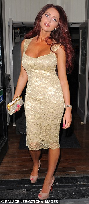 Amy Childs at Sugar Hut in Brentwood,